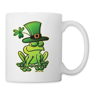 Saint Patrick's Day Frog Mugs