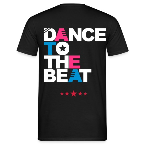 T-shirt French Boy'Z  Dance to the beat - T-shirt Homme