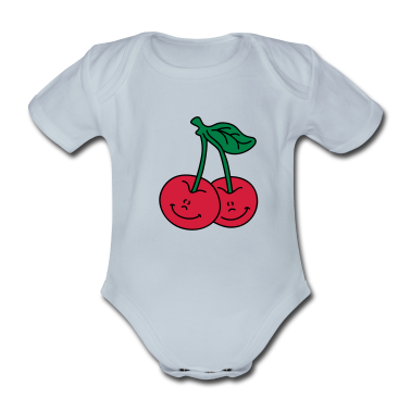 Delicious cherries Baby Bodysuits