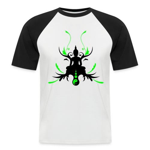 Buddha Erleuchtung - Männer Baseball-T-Shirt