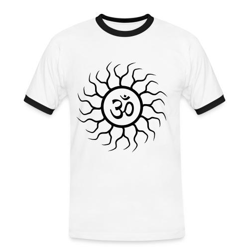 OM Mindstorm - Männer Kontrast-T-Shirt