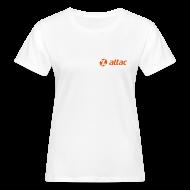 T-Shirts ~ Frauen Bio-T-Shirt ~ Attac Logo Shirt für Frauen