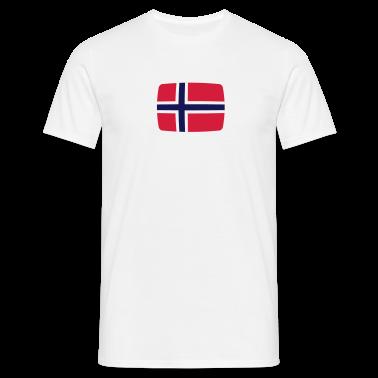 Norway Flag Norway Flag Norway Norwegian  T-Shirts