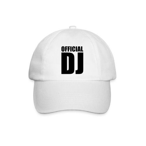 Basecap - OFFICIAL DJ  - Baseballkappe