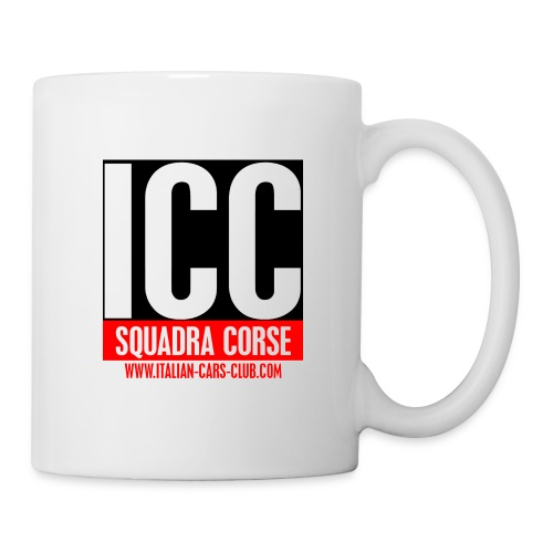 Tasse Squadra Corse ICC - Mug blanc