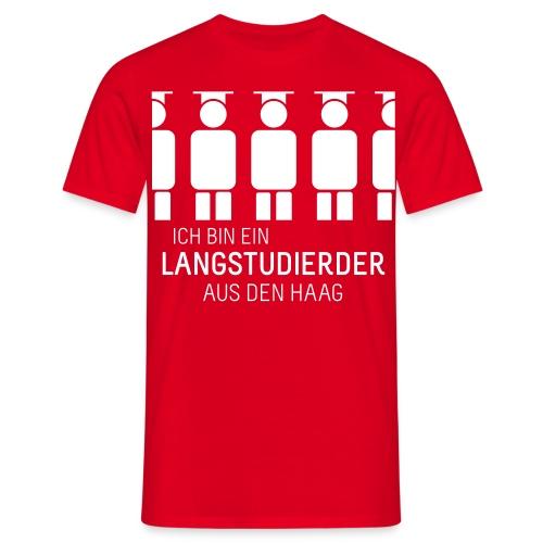 aus Den Haag (Shirt - Heren) - Men's T-Shirt