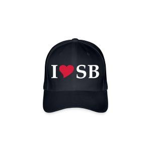 Cap I love SB -  Siebenbürgen - Transylvania - Erdely - Ardeal - Transilvania - Romania - Rumänien - Flexfit Baseballkappe