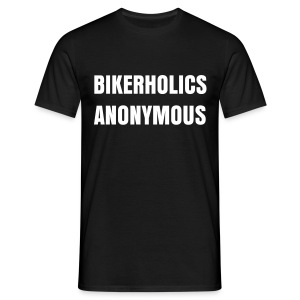 Bikerholics Anonymous - Men's T-Shirt