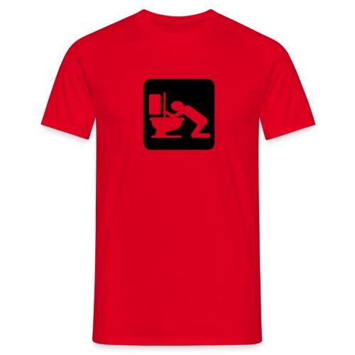 Fyllesyk - T-skjorte for menn