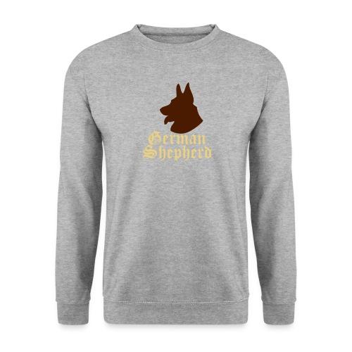 paws'n'life mens sweatshirt- German Shepherd - Men's Sweatshirt