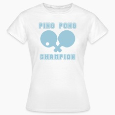 PING PONG CHAMPION T-Shirts