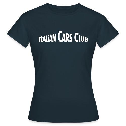 T-shirt Italian Cars Club - T-shirt Femme