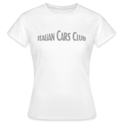 T-shirt Italian Cars Club - T-shirt Femme