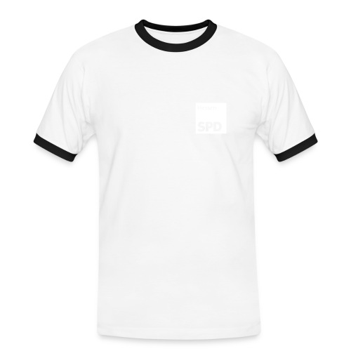 SPD Hessen Kontrast-Shirt - Männer Kontrast-T-Shirt