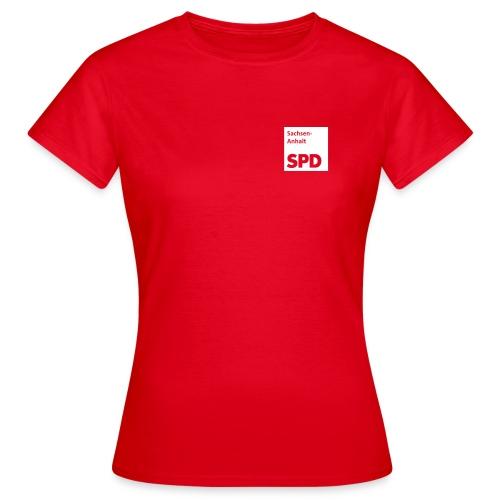 SPD Sachsen-Anhalt Frauen-Shirt - Frauen T-Shirt