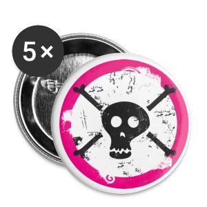 Skull Button - Buttons klein 25 mm