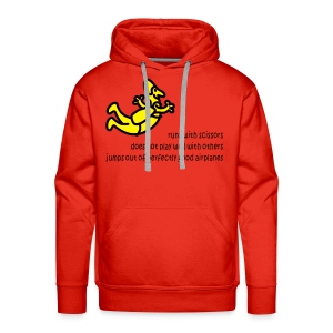 Runs With Scissors - Men's Premium Hoodie