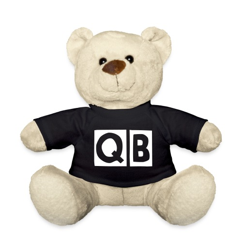QB Teddy in Black - Teddy Bear