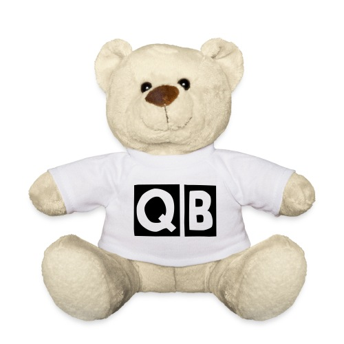 QB Teddy in White - Teddy Bear