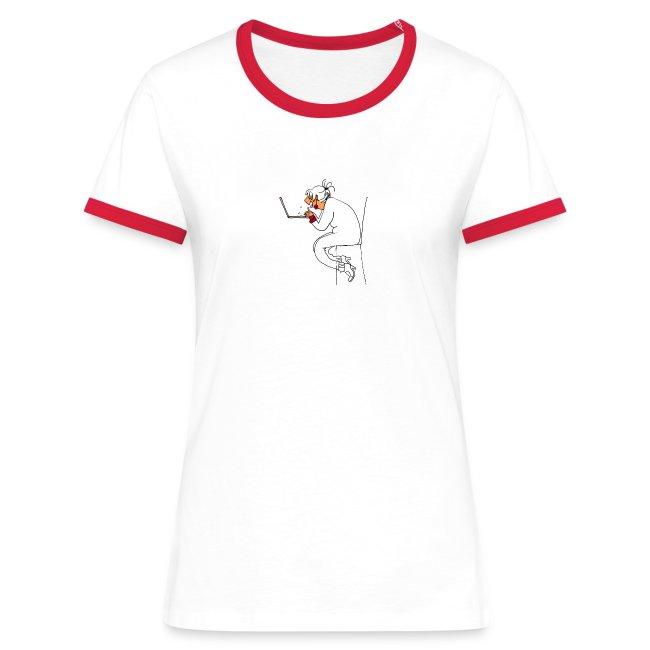 """T shirt """"accro du boulot"""""""