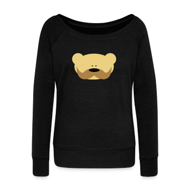 Teddy Bear Moustache Hoodies & Sweatshirts