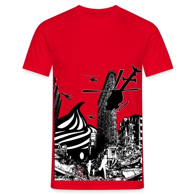 T-shirt Cupcake Invasion Homme