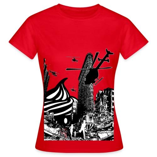 T-shirt Cupcake Invasion Femme - T-shirt Femme