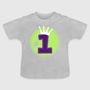 Number One Baby T-Shirts - Baby T-Shirt