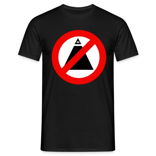 Anti-illuminati - T-shirt Homme