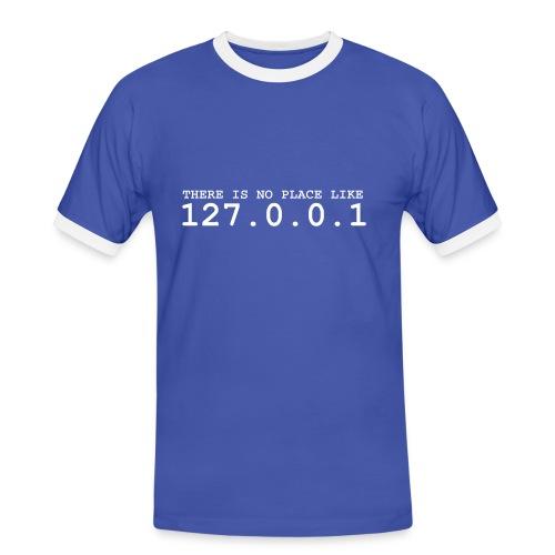 localhost - Männer Kontrast-T-Shirt