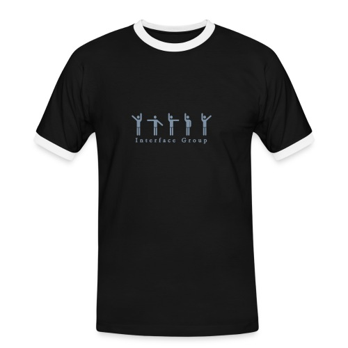Interface Group - Männer Kontrast-T-Shirt