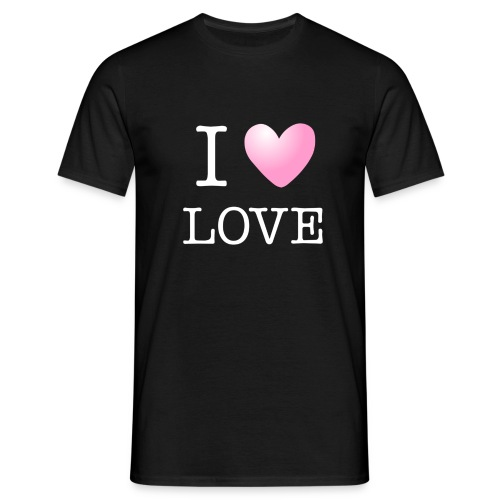 I love love - T-shirt Homme