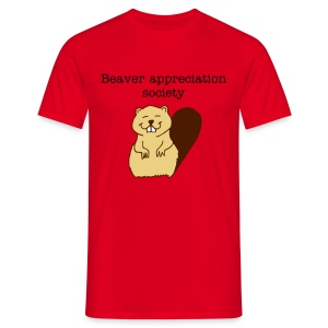 Beaver appreciation - Men's T-Shirt