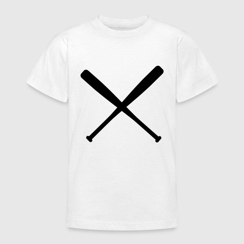 baseball bat crossed T-shirt | Spreadshirt