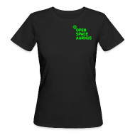 T-shirts ~ Organic damer ~ Version økohippieinde