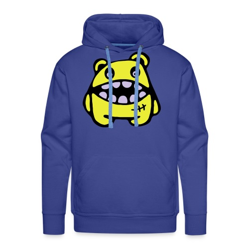 yellow monster - Mannen Premium hoodie
