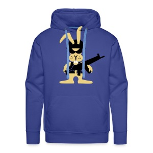 freaky bunny - Mannen Premium hoodie