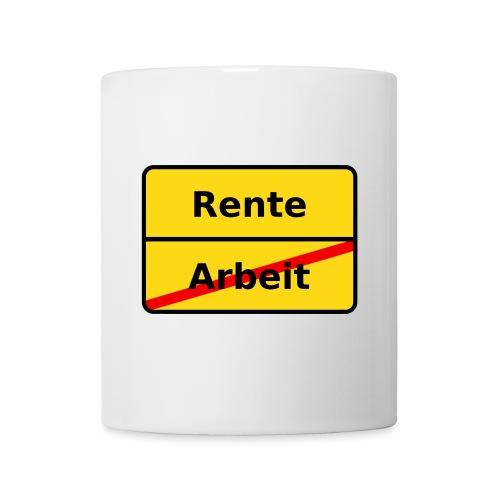 Rentnertasse - Tasse