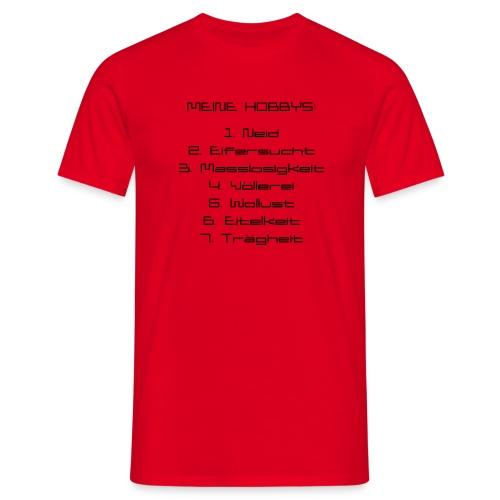 Todsünden - Männer T-Shirt