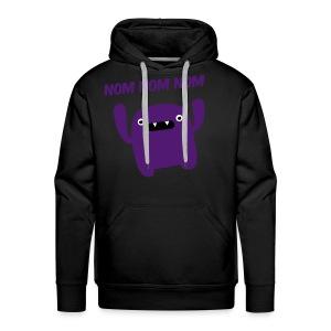 purple monster - Mannen Premium hoodie