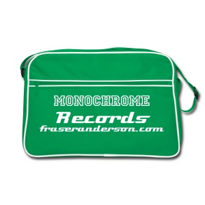 Monochrome Records retro style shoulder bag - Retro Bag