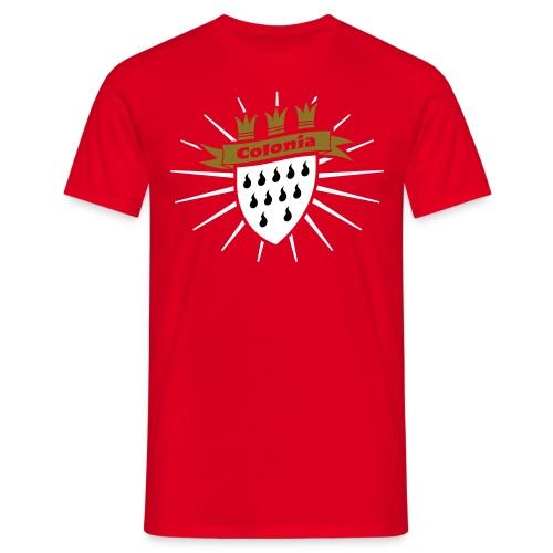 Colonia classic - Männer T-Shirt