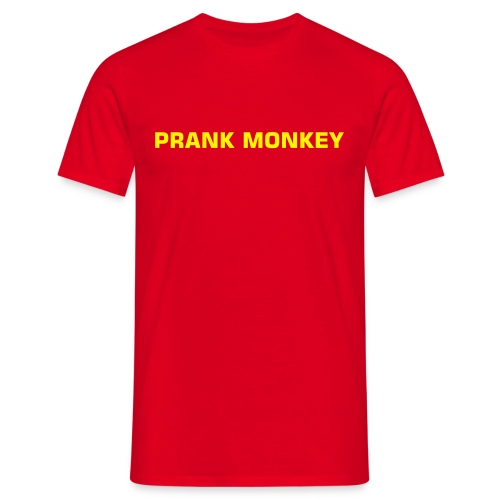 PRANK MONKEY - Men's T-Shirt