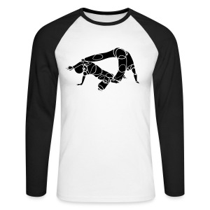 Capoeira by Qualhada 002 M Black - T-shirt baseball manches longues Homme
