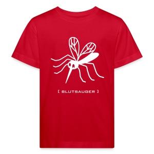 Bio Kinder Shirt Mücke Moskito Blutsauger weiss Tiershirt Shirt Tiermotiv - Kinder Bio-T-Shirt