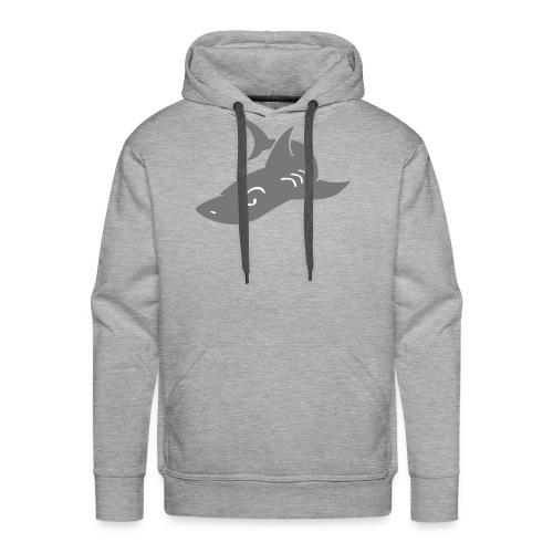 sweat Shirt Shark - Sweat-shirt à capuche Premium pour hommes