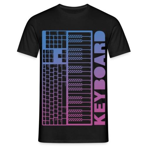Keyboard - Men - Männer T-Shirt