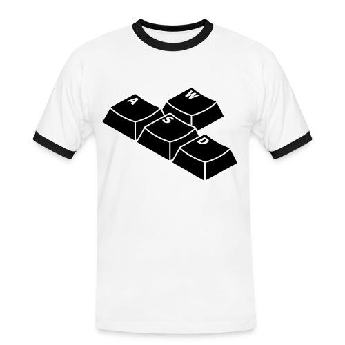 WASD Shirt - Männer Kontrast-T-Shirt