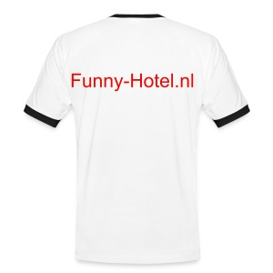 Funny T-Shirt 1 - Mannen contrastshirt