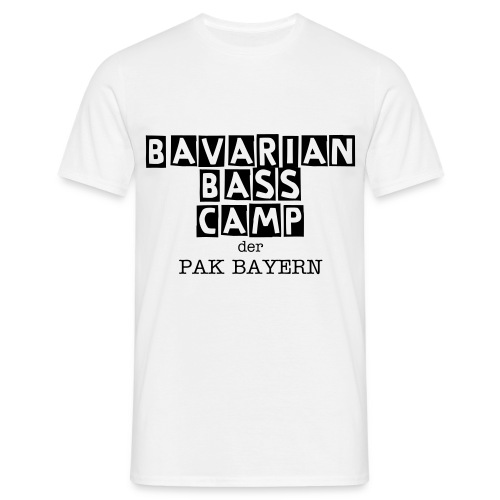 Bavarian Bass Camp Shirt - Männer T-Shirt